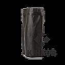Пакет Дой-Пак чорний 180*280 дно (45+45), фото 2