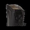 Пакет Дой-Пак чорний 180*280 дно (45+45), фото 3