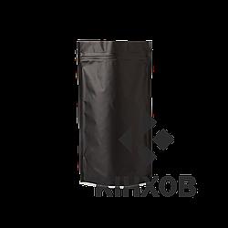 Пакет Дой-Пак чорний 210*380 дно (55+55)