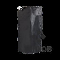 Пакет Дой-Пак со штуцером чёрный 210*380 дно (55+55) Ш-15