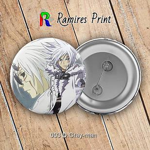 Значок Аниме D.Gray-man 003