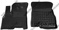 Полиуретановые коврики в салон FAW V5, 2 шт. (Avto-Gumm)