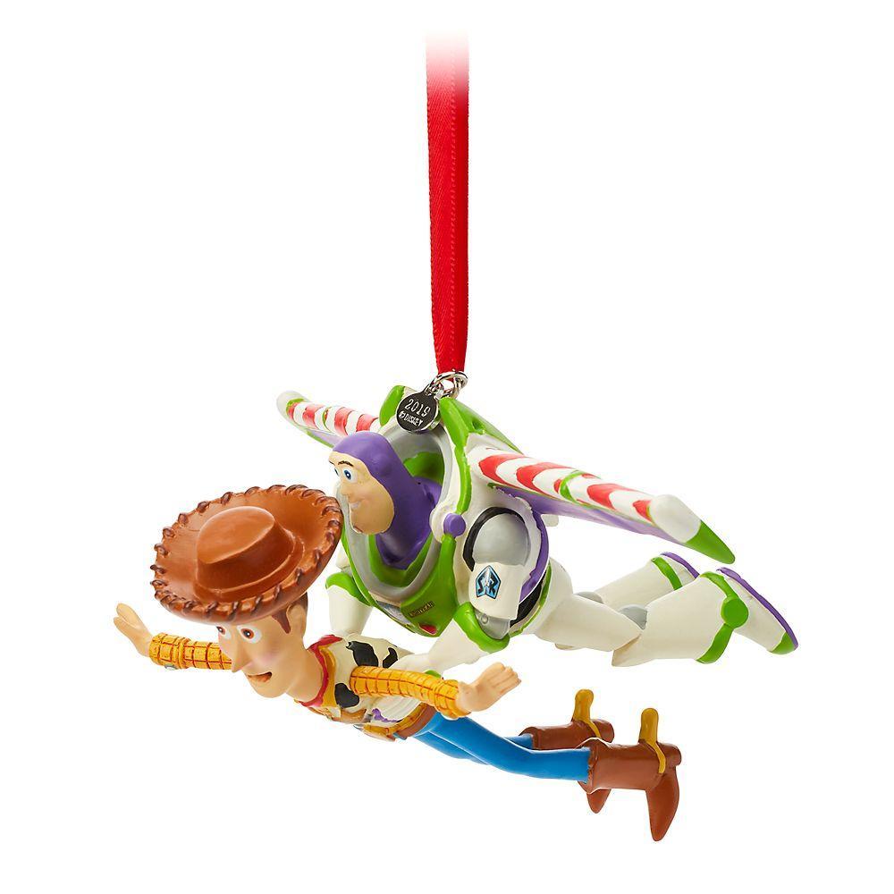 Елочная игрушка Дисней История игрушек Базз Лайтер Вудди
