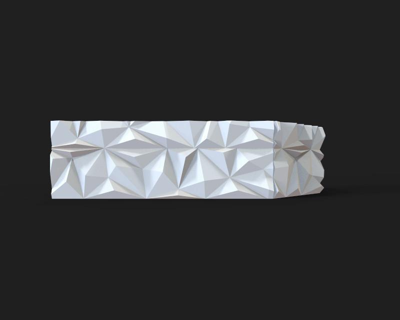 Декоративні гіпсові панелі 3D Gipster «Prometheus spike»