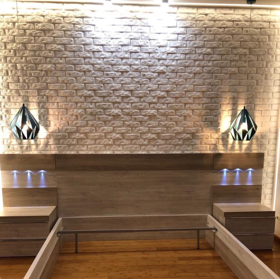 Декоративні гіпсові панелі 3D Gipster «Камінь/Цегла»