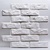 Декоративні гіпсові панелі 3D Gipster «Камінь/Цегла», фото 2