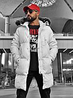 Премиум куртка мужская замняя