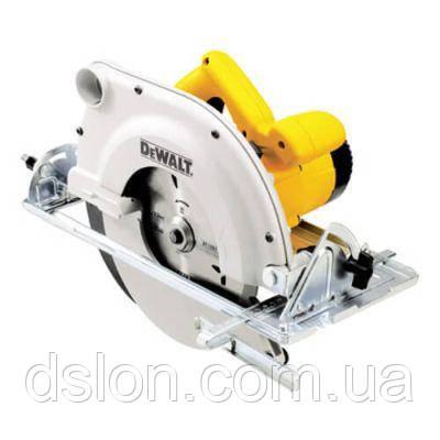 Пила циркулярная DeWALT D23700, ручная, 1750Вт, диск 235х30 мм, пропил 86мм, паралел. упор, вес 8,2 кг.