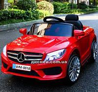Детский электромобиль M 3981 EBLR-3 Mercedes с EVA колесами, красный
