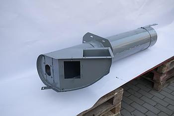 Кожух КЗК 0216010А шнека наклонного бункера комбайна Полесье кзс-812