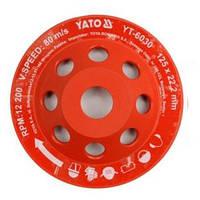 Алмазный шлифовальный круг по бетону и камню YATO YT-6030 (Польша)