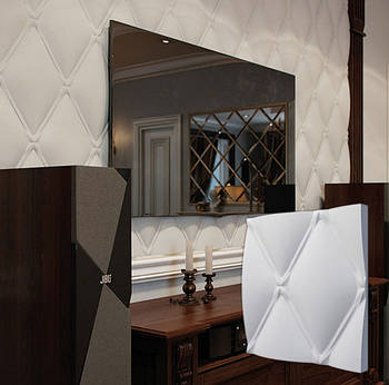 """Гіпсова 3d панелі для стін """"Класик"""" (декоративна стінова 3d панель)"""