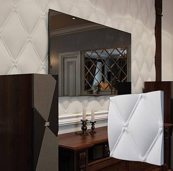 """Гипсовая 3d панель для стен """"Классик"""" (декоративная стеновая 3д панель)"""