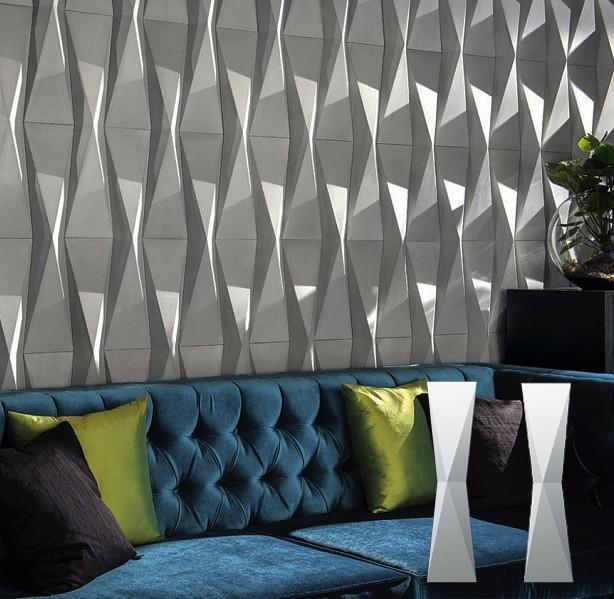 """Гіпсова 3d панелі для стін """"Метелик"""" (декоративна стінова 3d панель)"""