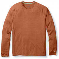 Термофутболка мужская Smartwool - Merino 150 Baselayer Pattern Long Sleeve Cardamom, р.L (SW 14051.877-L)