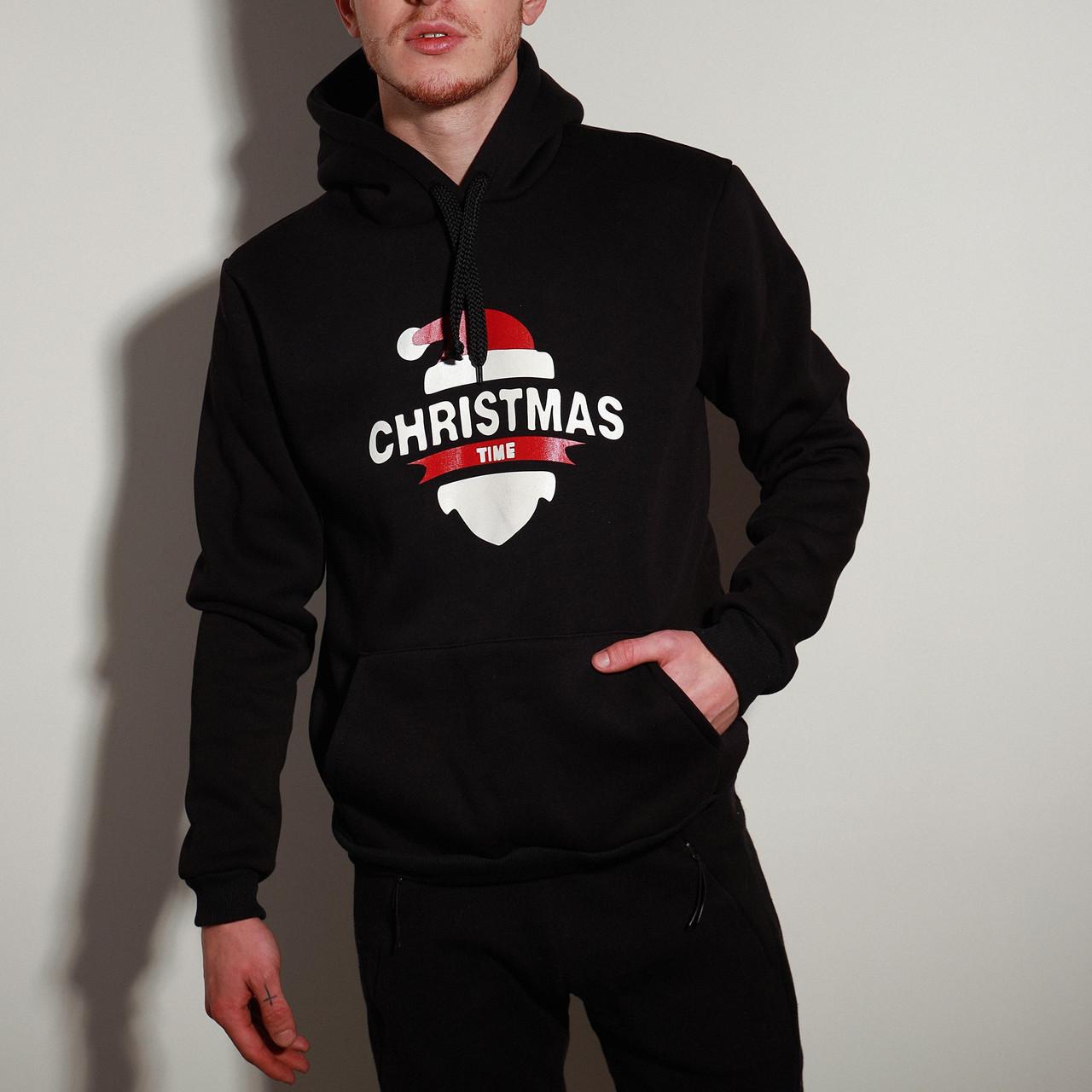 Мужской зимний худи Christmas