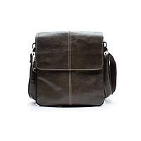 Мужская кожаная сумка Marrant Темно-зеленый, фото 1