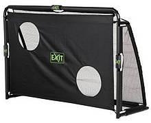 Футбольные ворота EXIT Маэстро 180х120 см складные чёрные