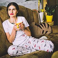 Хлопковая пижама с футболкой Летучие Мыши XL, фото 1