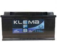 Аккумулятор  Klema EFB 6СТ- 110 Ач 920A