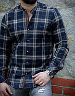 Стильная байковая мужская рубашка с длинным рукавом-трансформером из Турции