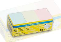 Стикеры для заметок 38 x 51 мм пастель BM.2310-99 Buromax