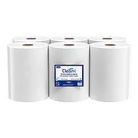 Бумажные рулонные полотенца с центральной вытяжкой, двухслойная целлюлоза. Длина 80 м. Высота 20,5 см