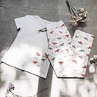 Детская пижама с футболкой Летучие Мыши 146 см, фото 1