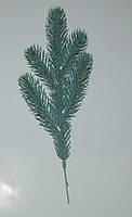 Ветка еловая голубая 30х11 см