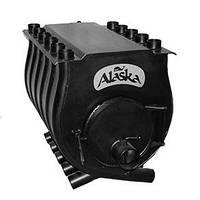"""Печь калориферная """"Аляска"""" для дома и дачи  ПК-25В ( с варочной поверхностью)"""