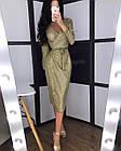Женское платье люрекс золото чёрный серебро S-М М-L, фото 8
