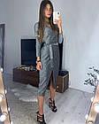 Женское платье люрекс золото чёрный серебро S-М М-L, фото 10