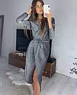 Женское платье люрекс золото чёрный серебро S-М М-L, фото 9