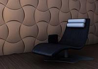 """Гипсовая 3d панель для стен """"Гутиэре"""" (декоративная стеновая 3д панель)"""