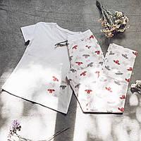 Детская пижама с футболкой Летучие Мыши 134 см, фото 1