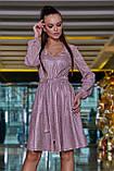 Романтичное платье с пышной юбкой (4 цвета, р.M-XXL), фото 9