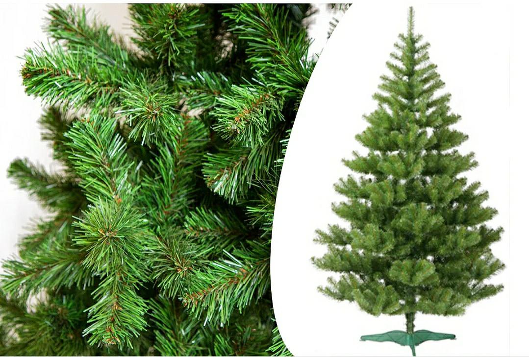 Искусственная елка. 1.80м. ПВХ. Мягкая хвоя. Новогодняя. Без запаха