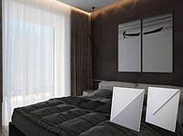 """Гипсовая 3d панель для стен """"PRESTIGE LINE"""" (декоративная стеновая 3д панель), фото 2"""