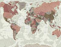 Фотообои   Карта мира    арт. 219122018