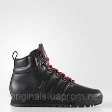 Зимние кожаные ботинки Adidas Jake Blauvelt на утеплителе Primaloft CQ1196