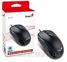 Мышь Genius DX-110, PS/2, black (31010116106)