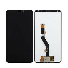 Дисплей (экран) для Meizu Note 8 с сенсором (тачскрином) черный