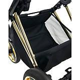 Универсальная детская коляска 2 в 1 Bexa Next Gold черная, фото 3