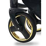 Универсальная детская коляска 2 в 1 Bexa Next Gold черная, фото 7