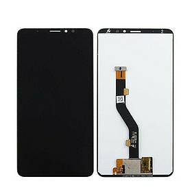 Дисплей (экран) для Meizu Note 8 с сенсором (тачскрином) черный Оригинал