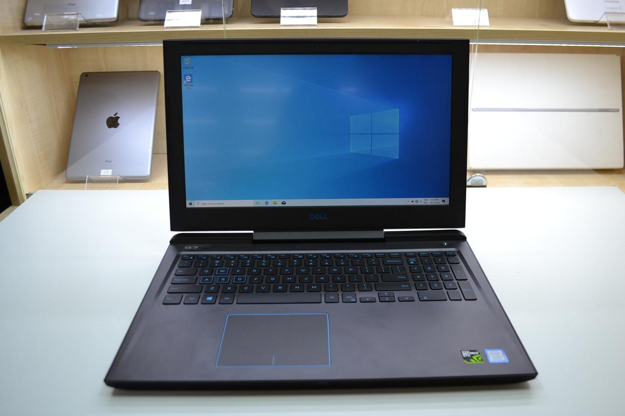 Ноутбук Dell G7 7588 i7-8750H 2.2GHz 16GB DDR4 128GB SSD + 1TB HDD GTX 1060 Оригинал!