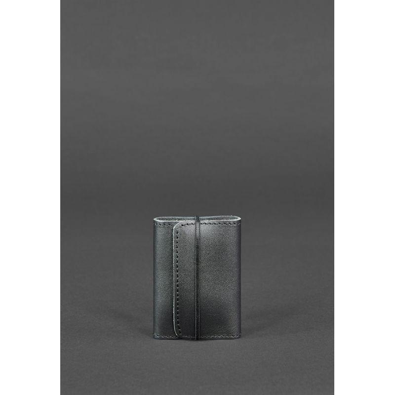 Кожаный кард-кейс 1.1 черный