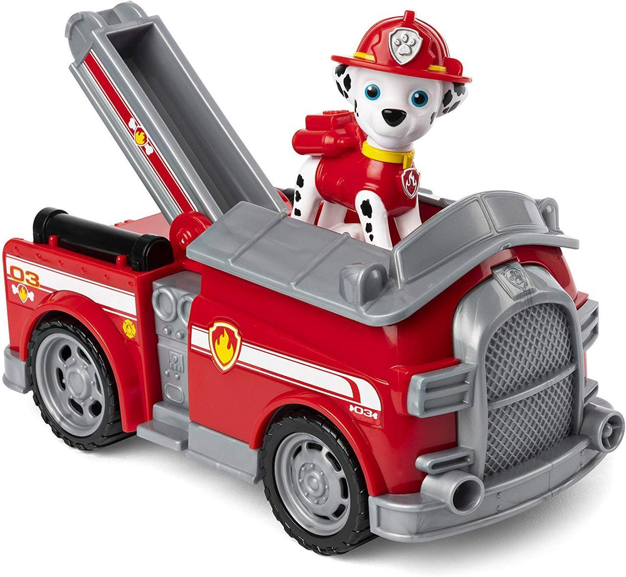 Щенячий патруль Paw Patrol Маршал и пожарная машина Spin Master