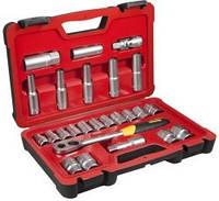 Набор инструмента головок и насадок 1/2 25ед Stanley FatMax FMHT0-73023