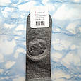 Носки женские с принтом котика серые размер 36-41, фото 4